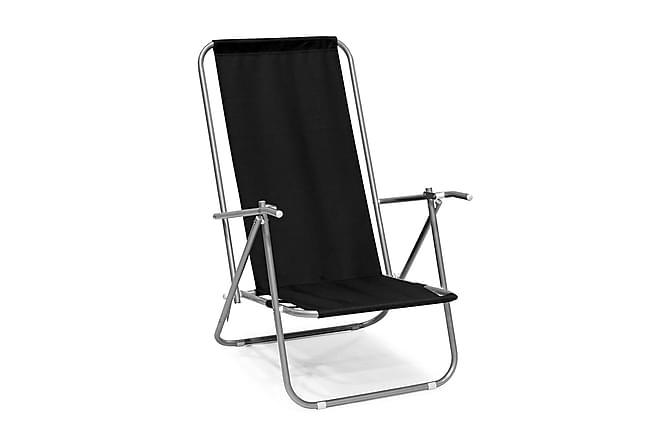 Taittotuoli Musta - Puutarhakalusteet - Tuolit & nojatuolit - Rantatuolit & retkituolit