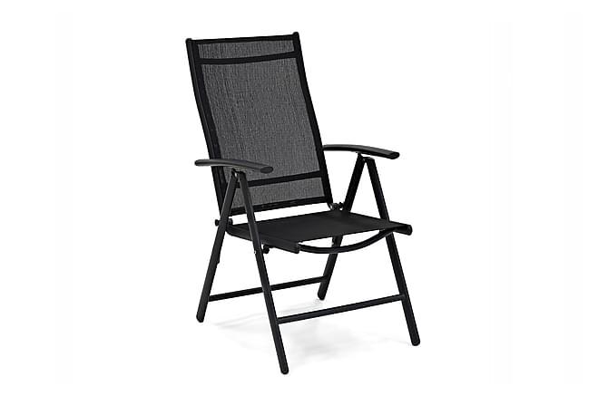 Säätötuoli Bredared Musta - Puutarhakalusteet - Tuolit & nojatuolit - Säätötuolit