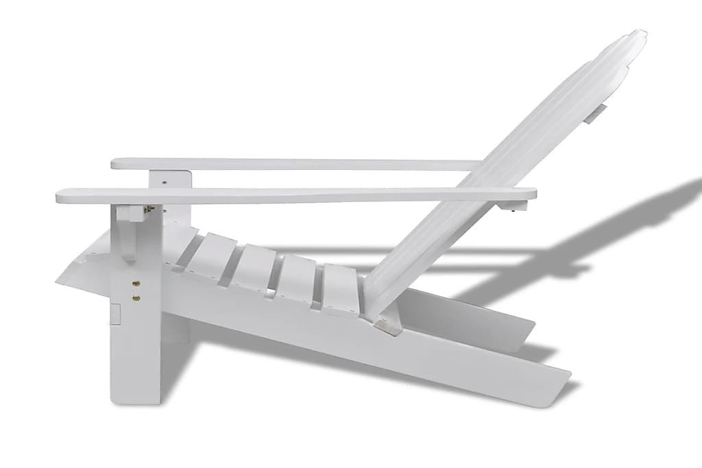 Puutarhatuoli puu valkoinen - Valkoinen - Puutarhakalusteet - Tuolit & nojatuolit - Ulkotilan ruokatuolit