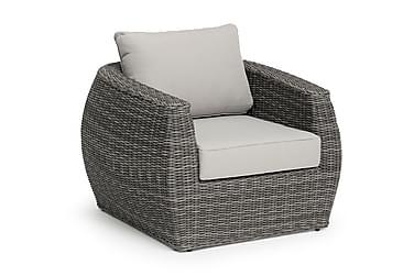 Lounge-nojatuoli Tara Harmaa
