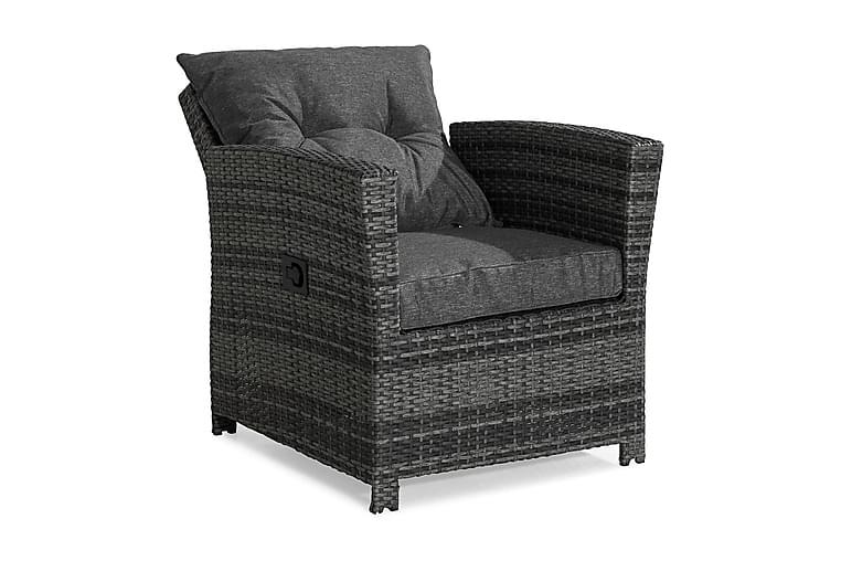 Mekanisminojatuoli James - Harmaa - Puutarhakalusteet - Tuolit & nojatuolit - Ulkotilan nojatuolit