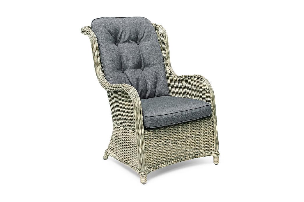 Nojatuoli Hillerstorp Hampton - Harmaanbeige - Puutarhakalusteet - Tuolit & nojatuolit - Ulkotilan nojatuolit