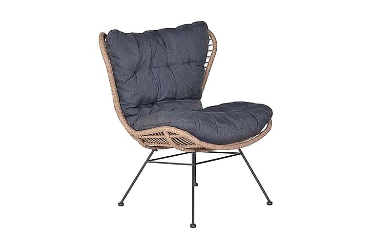Nojatuoli Libelle Ruskea/Musta - Garden Impressions - Puutarhakalusteet - Tuolit & nojatuolit - Ulkotilan nojatuolit