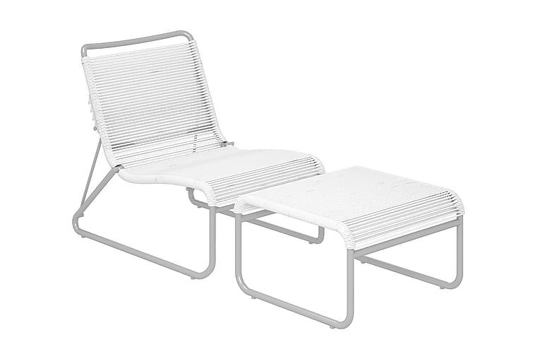 Nojatuoli Lita Valkoinen - CosmoLiving - Puutarhakalusteet - Tuolit & nojatuolit - Ulkotilan nojatuolit
