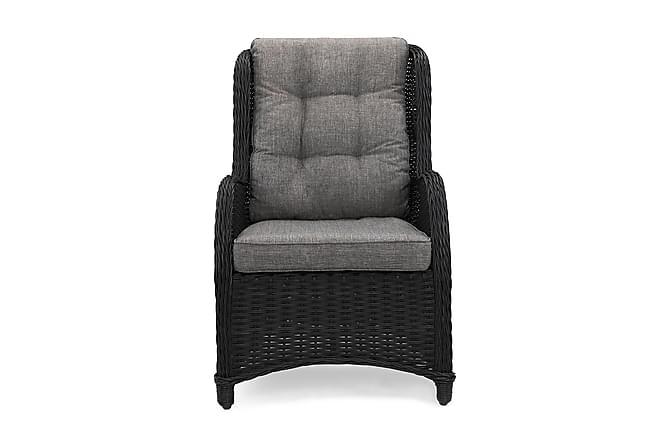 Marcus Nojatuoli - Musta - Puutarhakalusteet - Tuolit & nojatuolit - Ulkotilan nojatuolit