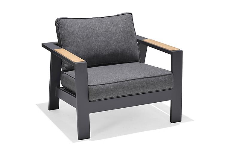 Nojatuoli Palau - Harmaa - Puutarhakalusteet - Tuolit & nojatuolit - Ulkotilan nojatuolit