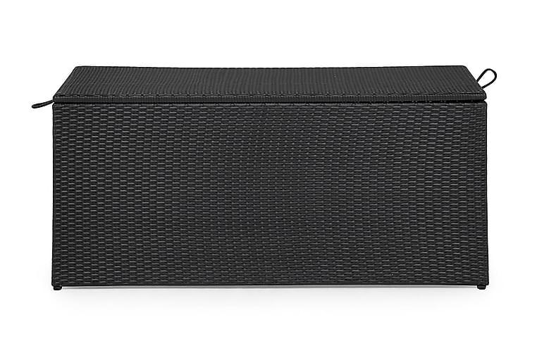 Pehmustelaatikko Imkerhof 130x60x60.5 - Musta - Puutarhakalusteet - Säilytyslaatikot & kalustesuojat - Säilytyslaatikot
