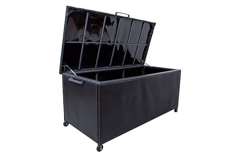 Pehmustelaatikko Magic Musta - Puutarhakalusteet - Säilytyslaatikot & kalustesuojat - Säilytyslaatikot
