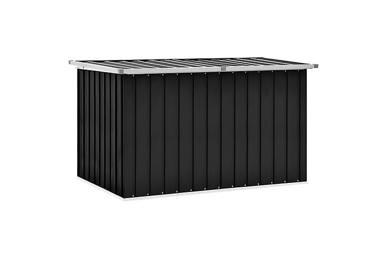 Puutarhan varastoarkku antrasiitti 149x99x93 cm - Puutarhakalusteet - Säilytyslaatikot & kalustesuojat - Säilytyslaatikot