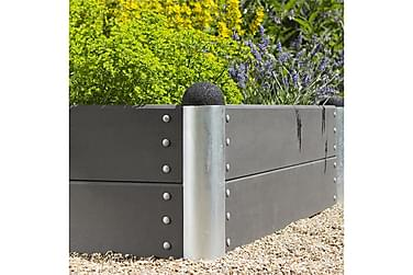 Pipe Viljelylaatikko 78x138 cm - Korkeus 36 cm - Komposiitti