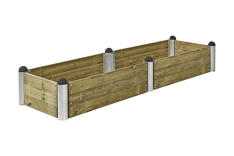Pipe Viljelylaatikko 80x270 cm - Korkeus 36 cm - painekäsite - Puutarhakalusteet - Tarvikkeet ulos - Ruukut ulkokäyttöön
