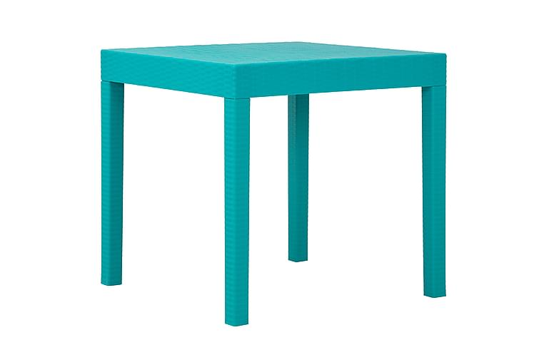 Pöytä Nadia 80x80 cm - Turkoosi - Puutarhakalusteet - Terassipöydät - Kahvilapöydät