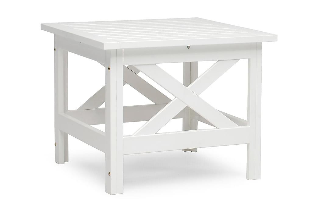Oleskeluryhmän pöytä Läckö Valkoinen - Puutarhakalusteet - Terassipöydät - Lounge pöydät