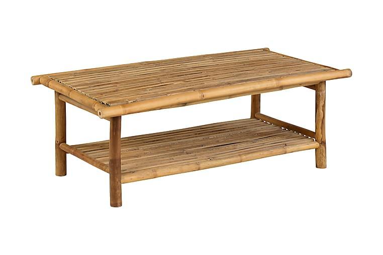 Sohvapöytä Bamboo - Ruskea - Puutarhakalusteet - Terassipöydät - Lounge pöydät