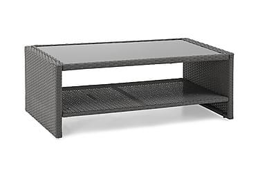 Sohvapöytä Rolls hyllyllä 111,5x58 cm