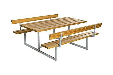 Basic Pöytä- ja penkkisetti 2 selkänojalla