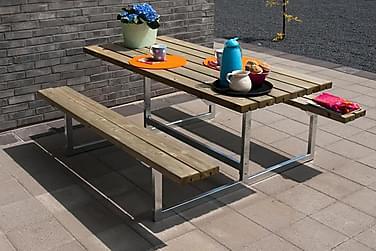 Basic Pöytä- ja penkkisetti - pituus 177 cm