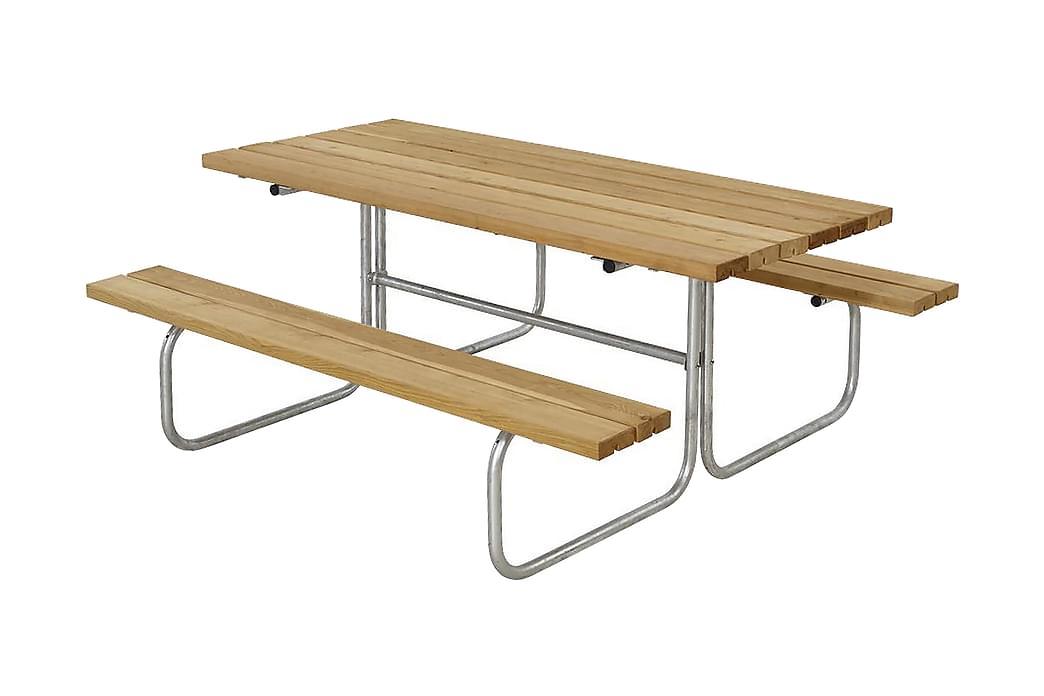 Classic Pöytä- ja penkkisetti L: 155 P: 177 K: 73 cm - Puutarhakalusteet - Valitse materiaalin mukaan - Puu & tiikki