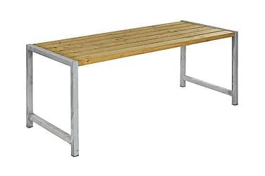 Lankkupöytä laudoilla