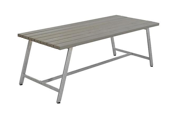Pöytä Royal - pituus 207 cm - Puutarhakalusteet - Terassipöydät - Piknikpöydät