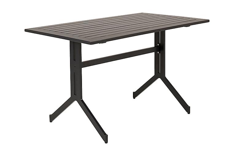 Kahvilapöytä Wester 120 cm - Musta - Puutarhakalusteet - Terassipöydät - Ruokapöytä terassille