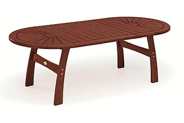 Pöytä 110x170(230/290) Mahonki ilman jatkolevyä
