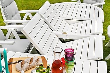 Pöytä Amelia 212 cm Valkoinen
