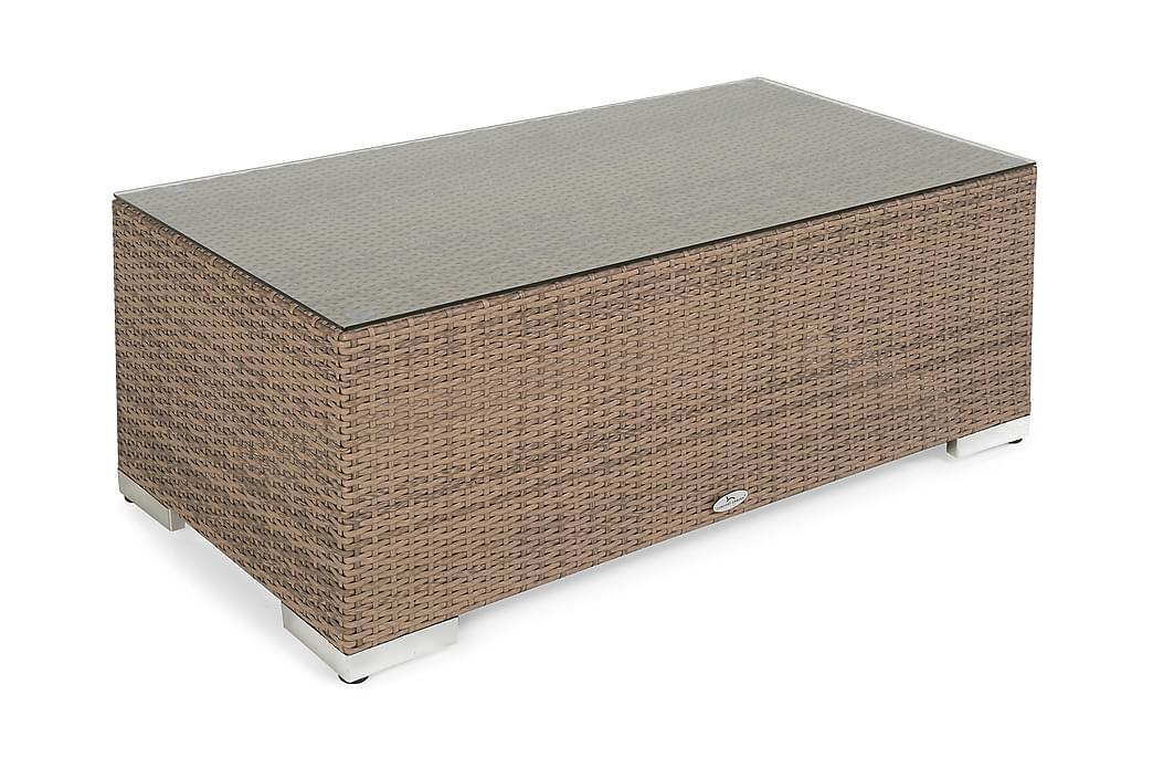 Pöytä Bahamas 113 cm - Hiekka - Puutarhakalusteet - Terassipöydät - Ruokapöytä terassille