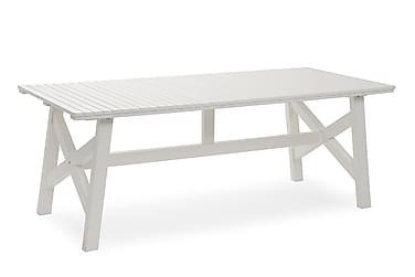 Pöytä Bullerö 90x200 cm Valkoinen mänty