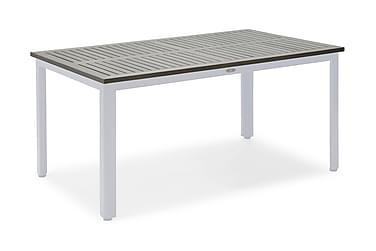 Pöytä Nydala 90x150 cm Valkoinen/Harmaa