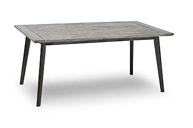 Pöytä Valetta 90x164 cm Harmaa