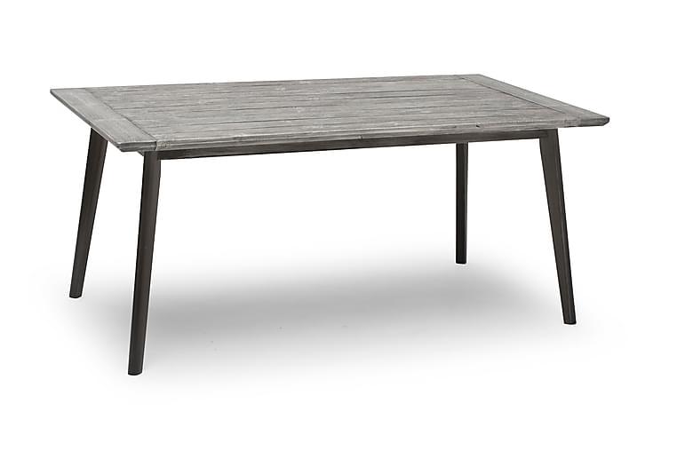 Pöytä Valetta 90x164 cm Harmaa - Puutarhakalusteet - Terassipöydät - Ruokapöytä terassille