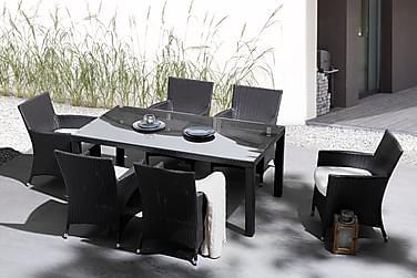 Puutarhapöytä Italy 160 cm