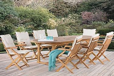 Puutarhapöytä Java 220 cm