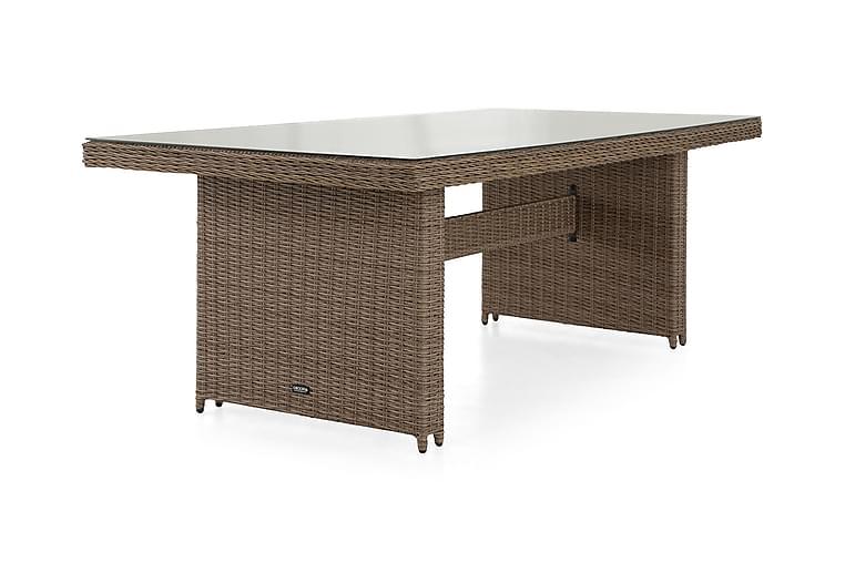 Ruokapöytä Marcus 200 cm - Luonnonväri - Puutarhakalusteet - Terassipöydät - Ruokapöytä terassille