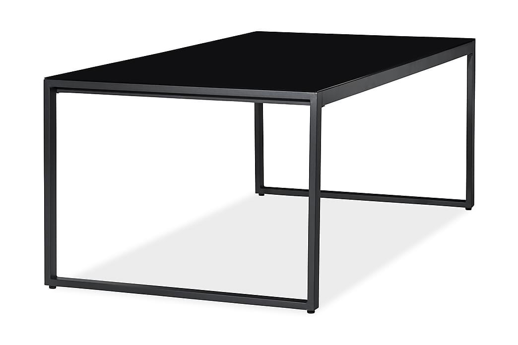 Ruokapöytä Silvia 200x100 cm - Musta - Puutarhakalusteet - Terassipöydät - Ruokapöytä terassille