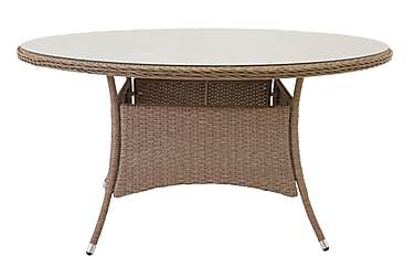 Ruokapöytä Mopane 140 Pyöreä
