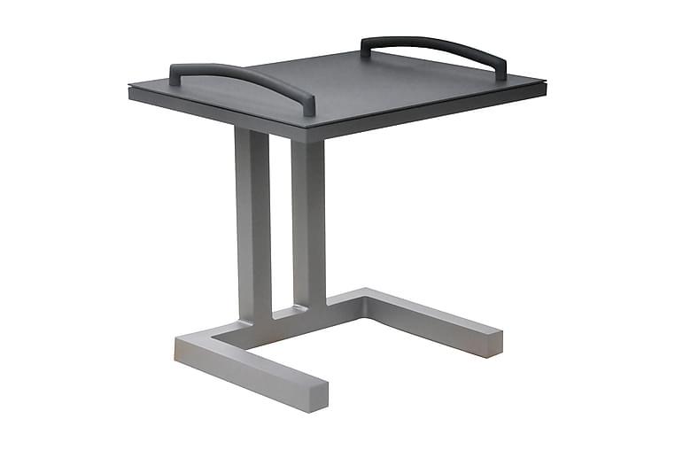 Sivupöytä Easy 50 cm Harmaa - Life Outdoor Living - Puutarhakalusteet - Terassipöydät - Sivupöydät