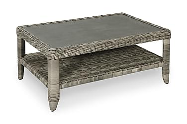 Oleskeluryhmän pöytä Dallas 128x75 cm Ruskea