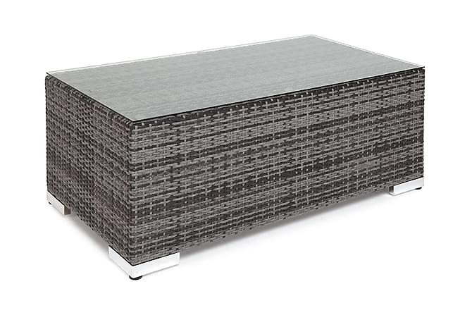 Pöytä Bahamas 113 cm - Harmaa - Puutarhakalusteet - Terassipöydät - Sohvapöydät