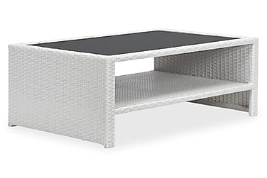 Sohvapöytä Lupo hyllyllä 100x65 cm