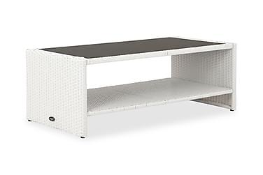 Sohvapöytä Rolls hyllyllä 111x58 cm