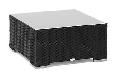 VALENCIA Pöytä Musta 80X80X40 cm 4T