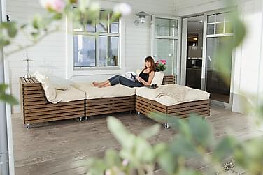 Lounge-nojatuoli Hillerstorp Bara Vara + Divaani 2-pak