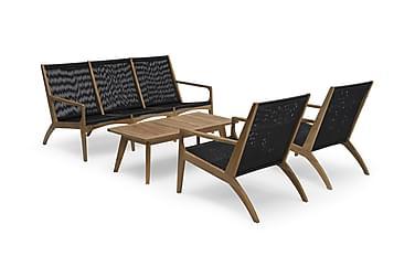 Sohvaryhmä Hillerstorp Ardernäs Pöytä + Sohva + 2 nojatuolia