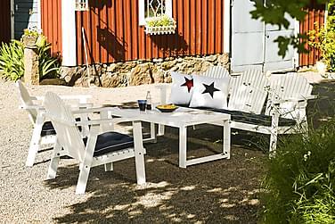 Sohvaryhmä Hillerstorp Gotland Pöytä+Bullerö Sohva+2 tuolia