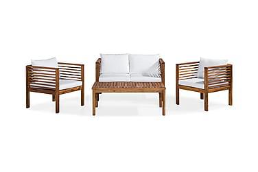 Parvekeryhmä Askö 110x60 + 2 nojatuolia Pehmuste