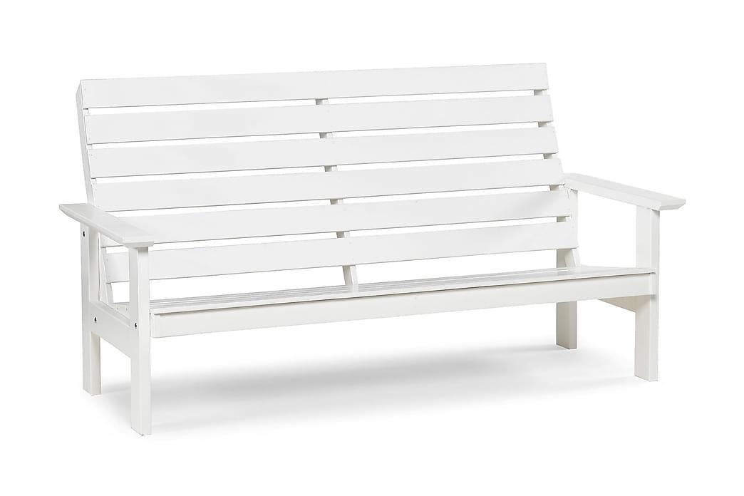 Sohva Herrgård 3:n ist Valkoinen - Puutarhakalusteet - Valitse materiaalin mukaan - Puu & tiikki