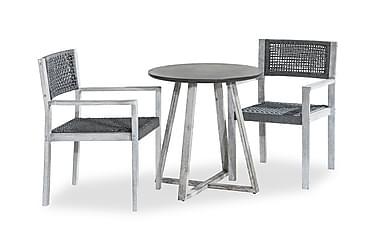 Parvekeryhmä Visby Pyöreä + 2 tuolia