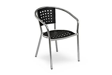 Parvekesetti Hillerstorp Alunda 70x70 + 2 Stapelfeld tuolia